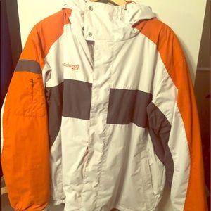Columbia outdoor Men's rain jacket